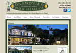 Grandview Bed & Breakfast website design